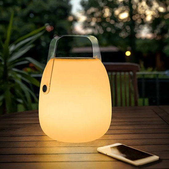 Lampe nomade PIC son&lumière