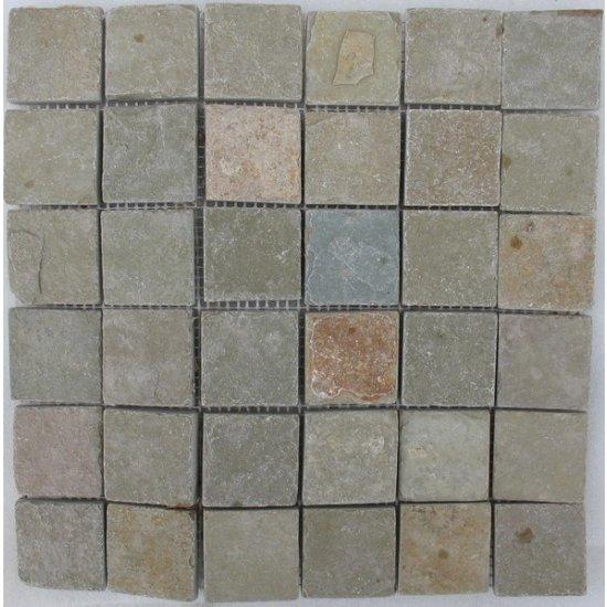 LOT Mosaïque Tandur beige 2.5x5x1 cm