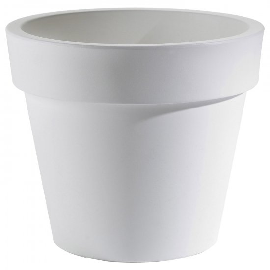 LOT Pot Ikon blanc Ø 40 H 36 cm