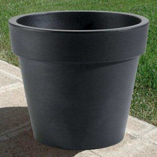 LOT Pot Ikon Noir Ø 40 H 36 cm