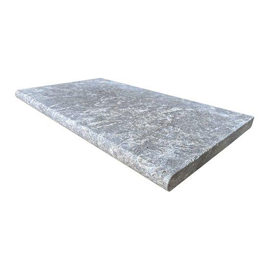 Margelle Travertin Silver ép.3.00 cm
