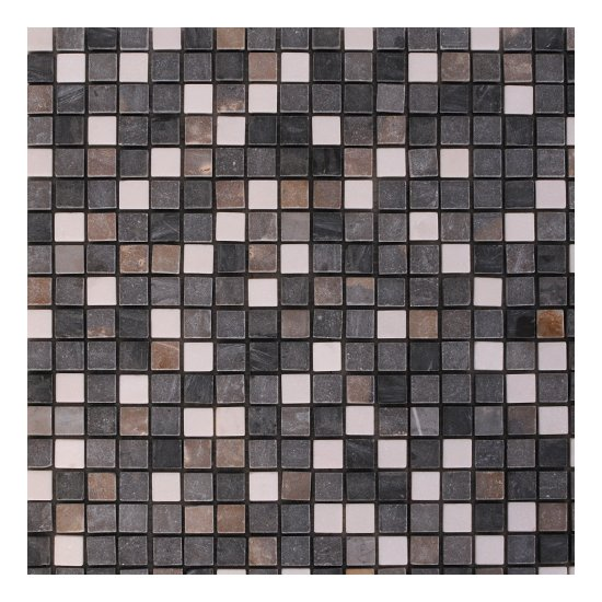 Mosaique travertin / marbre RIVER
