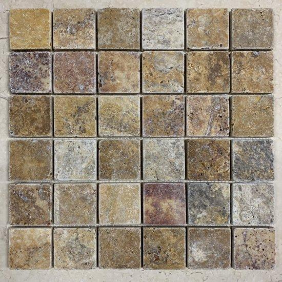 Mosaique travertin SCABAS