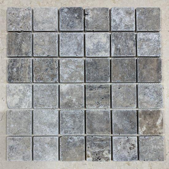 Mosaique travertin SILVER