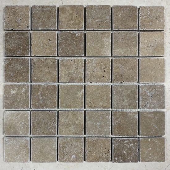 Mosaique travertin WALNUT