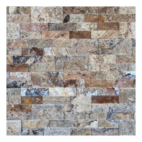 Parement travertin scabas 15.2x61x2.2 cm