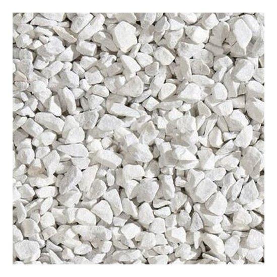 Galet concassé en marbre bianco Carrara