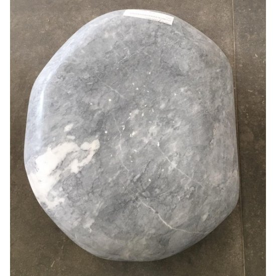 Galets de décoration en marbre Tundra grey