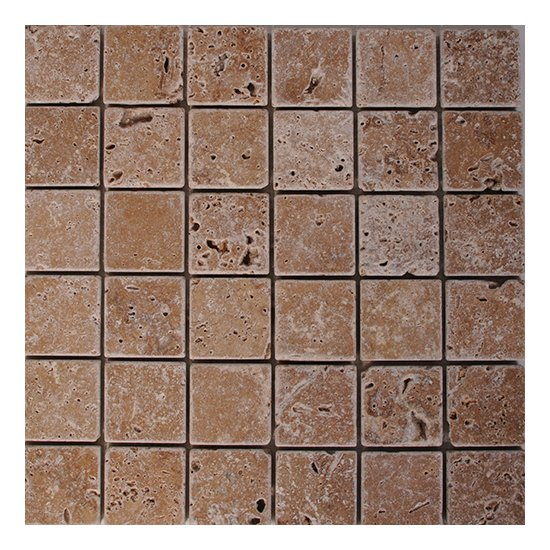 Mosaique travertin WALNUT