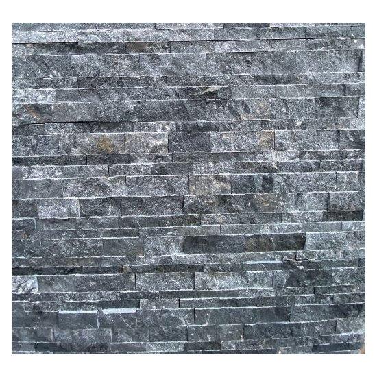 Parement Marbre Noir 18 x 50  ép.2.2 cm
