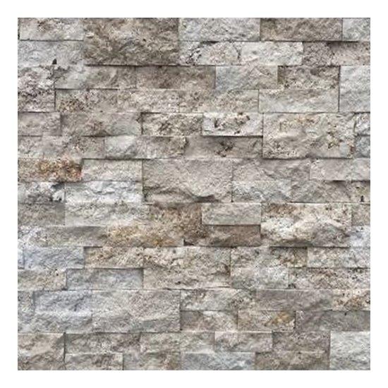 Parement travertin 15.2x61x2.2 cm