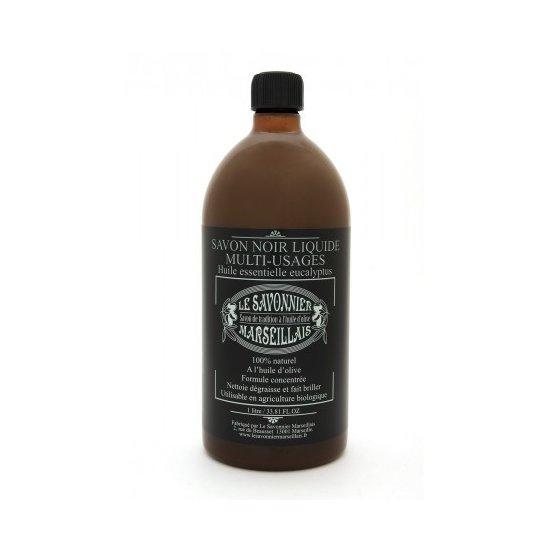 Savon noir de Marseille Eucalyptus 1L
