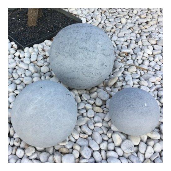 Sphère décorative Blue 3 pièces
