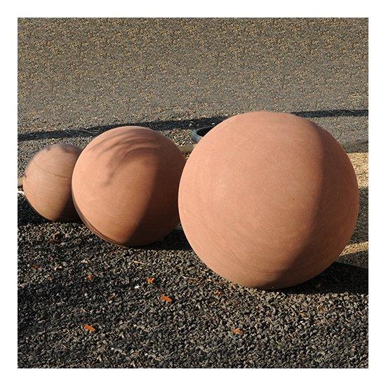 Sphère décorative chocolat 3 pièces
