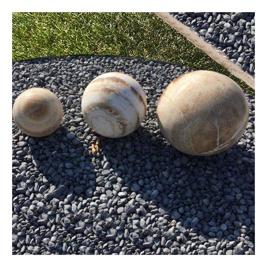 Sphère décorative en Onyx 3 pièces
