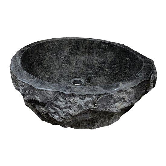 Vasque en marbre noire