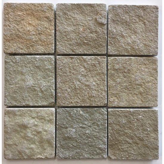 LOT Mosaïque Tandur beige 10x10x1 cm
