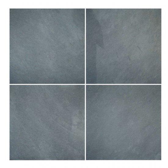 LOT Ardoise grise 40x40 ép.0.9 cm