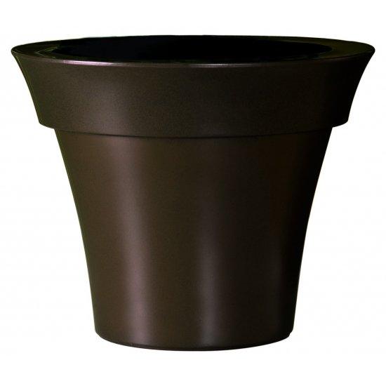 LOT Pot Misia Gloss rouille Ø 60 H 48 cm